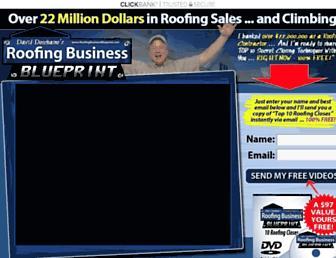 Thumbshot of Roofingbusinessblueprint.com