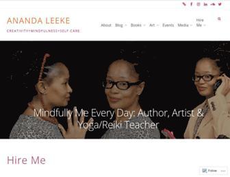 anandaleeke.com screenshot