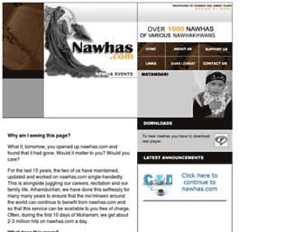 nawhas.com screenshot