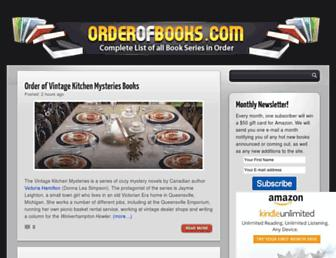 Thumbshot of Orderofbooks.com