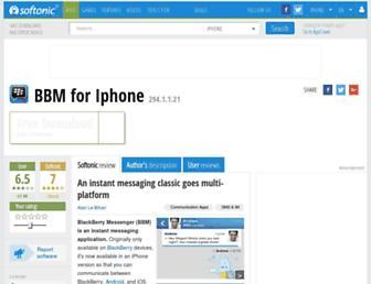 bbm.en.softonic.com screenshot