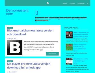 demomasterji.blogspot.com screenshot