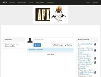 afk.guildwork.com screenshot