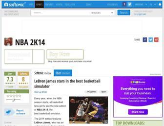 nba-2k14.en.softonic.com screenshot