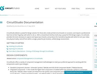 documentation.circuitstudio.com screenshot
