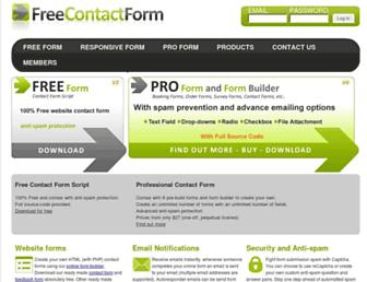 Thumbshot of Freecontactform.com