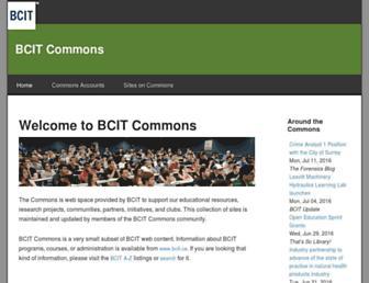 commons.bcit.ca screenshot