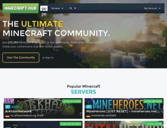 minecrafthub.com screenshot
