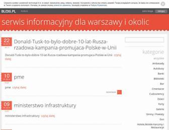 Main page screenshot of katarzyna-rotter.bloog.pl