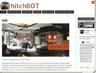 Thumbshot of Hitchbot.me