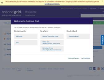 Thumbshot of Nationalgrid.com