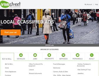 vivastreet.co.uk screenshot