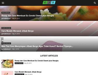 gamisjilbabsyari.com screenshot