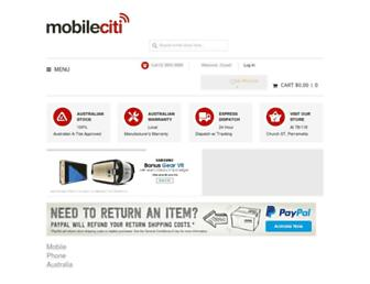 Thumbshot of Mobileciti.com.au