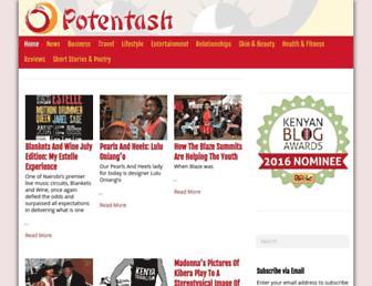 potentash.com screenshot