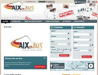 Thumbshot of Aixenbus.fr