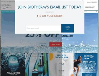Thumbshot of Biotherm-usa.com
