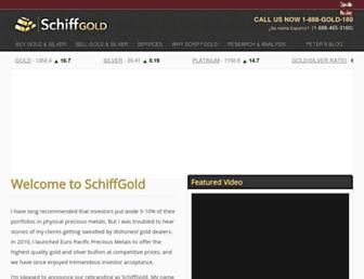 schiffgold.com screenshot