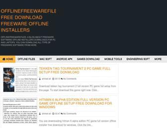 offlinefreewarefiles.com screenshot