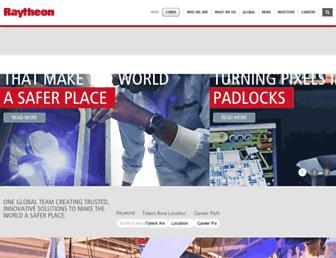 jobs.raytheon.com screenshot