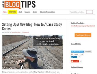 Thumbshot of Hotblogtips.com