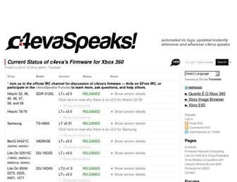 c4evaspeaks.com screenshot
