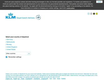 Thumbshot of Klm.com