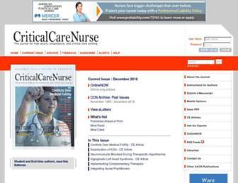 ccn.aacnjournals.org screenshot