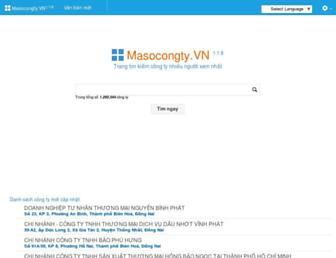 masocongty.vn screenshot
