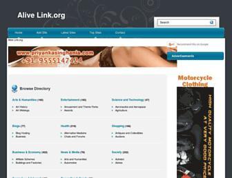 Thumbshot of Alivelink.org