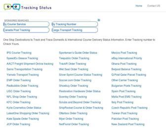 tracking-status.com screenshot