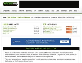 Thumbshot of Minecraftmaps.com