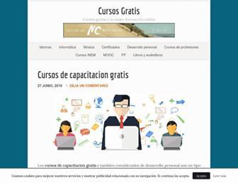 decursosgratis.com screenshot