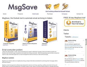msgsave.com screenshot