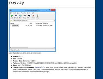 e7z.org screenshot