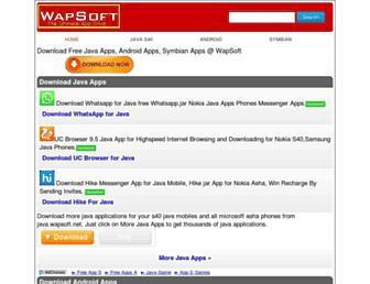 wapsoft.net screenshot