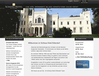 Thumbshot of Schloss-kittendorf.de
