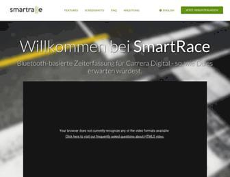 smartrace.de screenshot