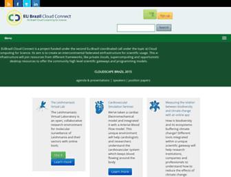 eubrazilcloudconnect.eu screenshot