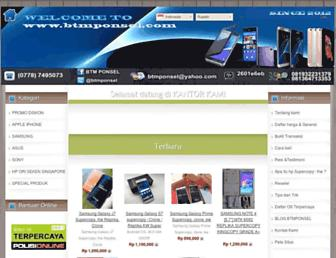 btmponsel.com screenshot
