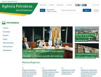 agenciapetrobras.com.br screenshot