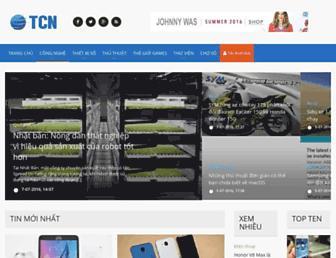trangcongnghe.com screenshot