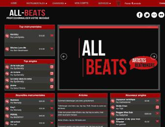 all-beats.com screenshot