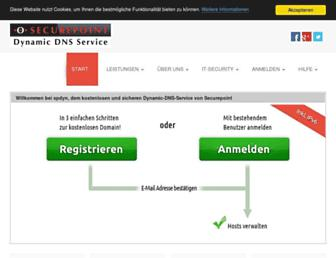 Thumbshot of Spdns.de