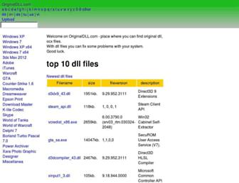 originaldll.com screenshot