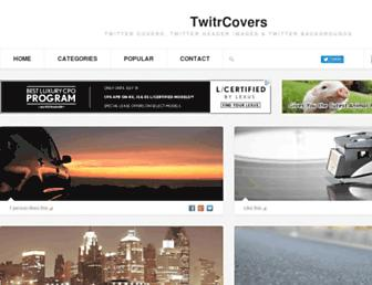 twitrcovers.com screenshot