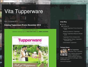vitatupperware89.blogspot.com screenshot