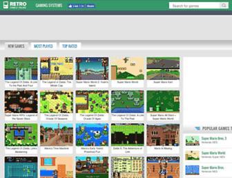 playretrogames.com screenshot