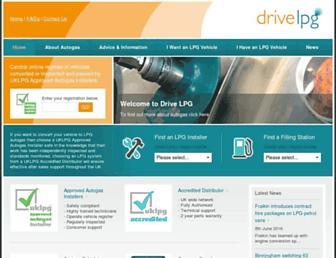 drivelpg.co.uk screenshot