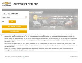 chevydealer.com screenshot